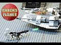 Snowspeeder 75049 LEGO Star Wars - Stop Motion Review, Time-Lapse Build
