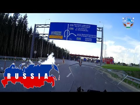 WORLD RIDE 2017 || EP. 49 || Moscow to St Petersburg,RUSSIA