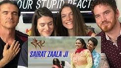Sairat Zaala Ji Song REACTION! - Marathi Songs
