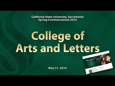 Commencement - Spring 2016 - College of Arts and Letters