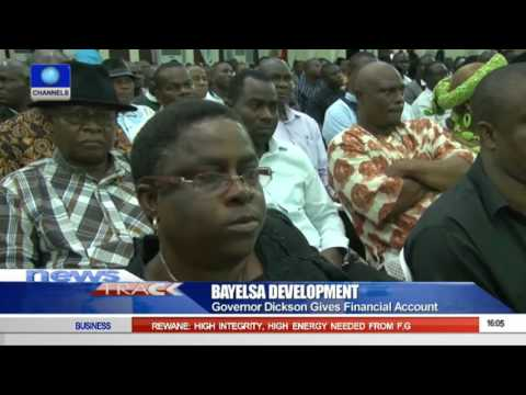 Governor Dickson Gives Financial Account Of Bayelsa To Residents 04/10/15