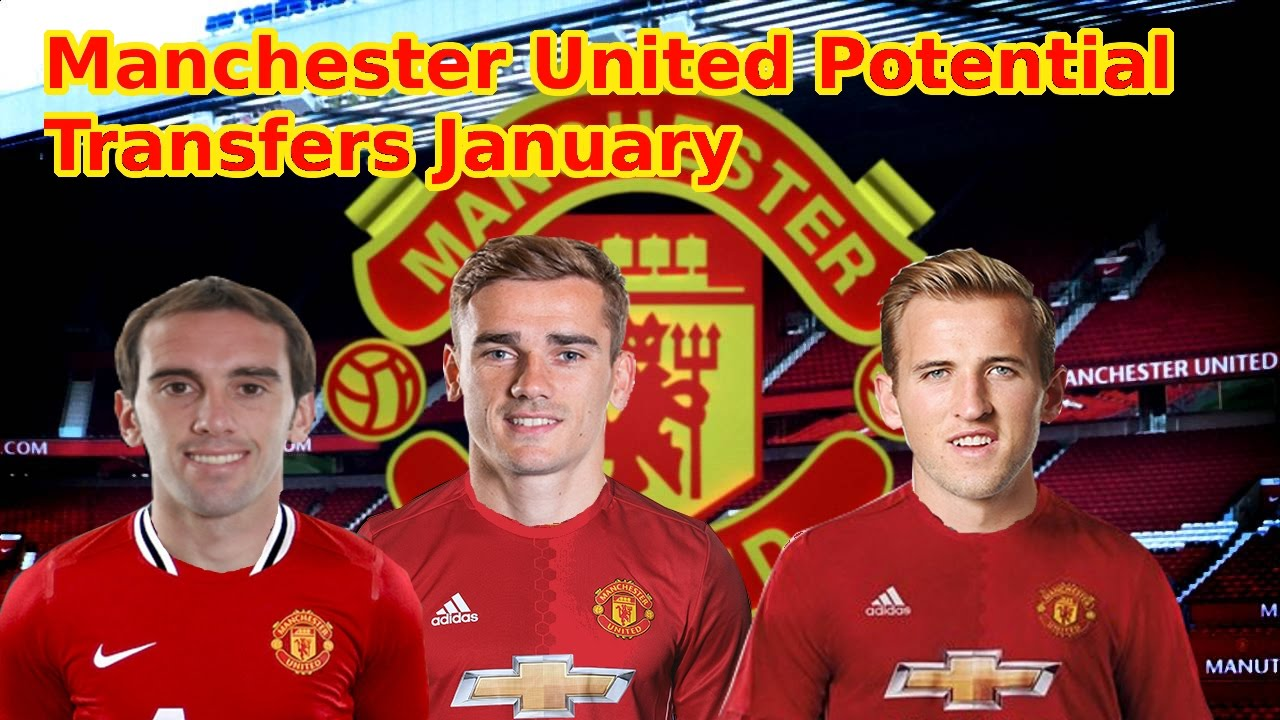 Manchester United January 2017 Potential Transfers 6