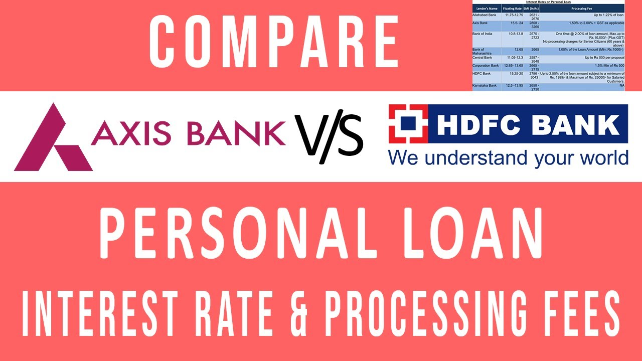 home loan axis bank or hdfc