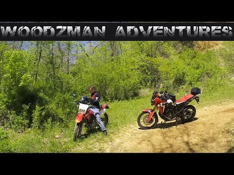 Africa Twin & CRF230L Father & Son Ride In the Ozarks Pt 2