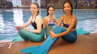 'Академия Русалок' - популярный фитнес (плавание) в Торонто