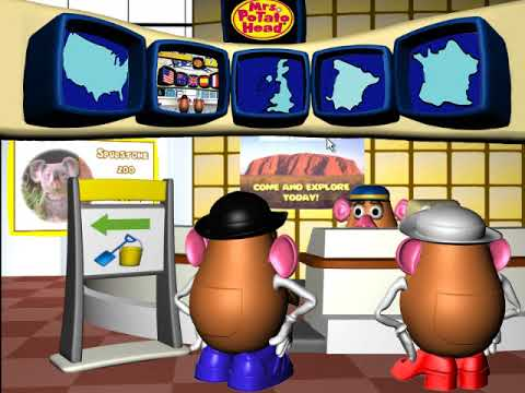 Mr. and Mrs. Potato Head Go On Vacation (PC Game)