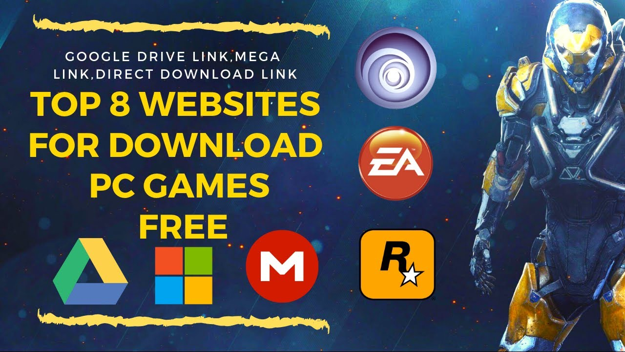 Top 8 Websites For Pc Games Download 2019 Google Drive