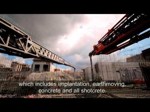 Sacyr Video. Panama Canal works. June 2015