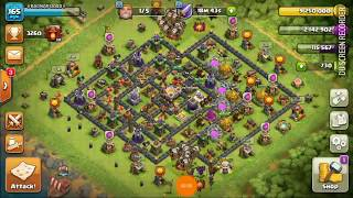 Th11 Maxed Base Minner Attack-Clash Of Clans