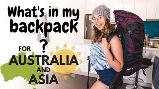 One of Backpacking Bananas's most viewed videos: What's in my Backpack for Australia & Asia?
