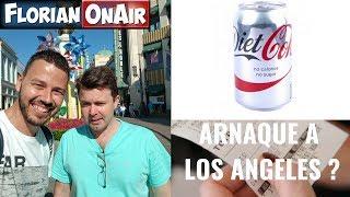 On tente de nous ARNAQUER à LOS ANGELES!? Arnaque au Coca + Taxe chelou - VLOG #642