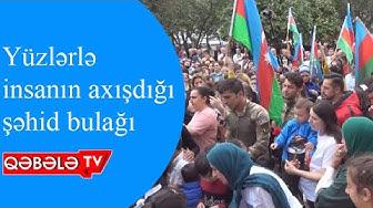 ŞƏHİD AQŞİN ƏNVƏRLİNİN XATİRƏSİNƏ ŞƏHİD BULAĞI TİKİLDİ-QƏBƏLƏ TV