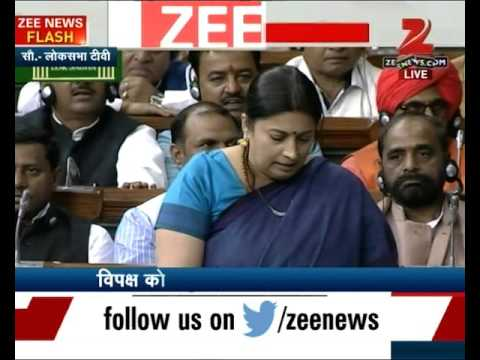 Smriti Irani's Speech In Parliament | Part I