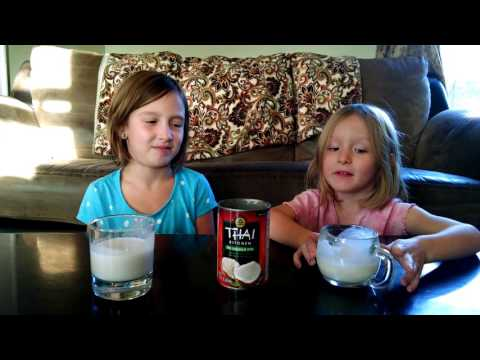 Exotic Eats with the OKeefes - coconut milk!