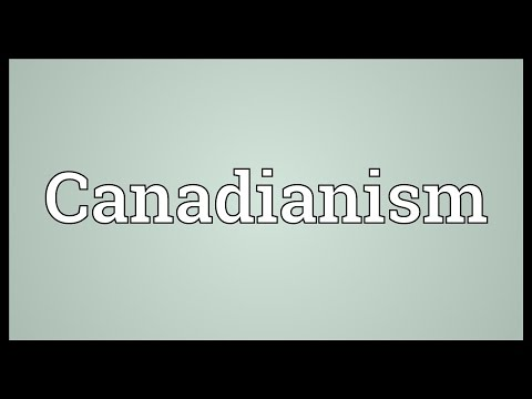 Header of Canadianism