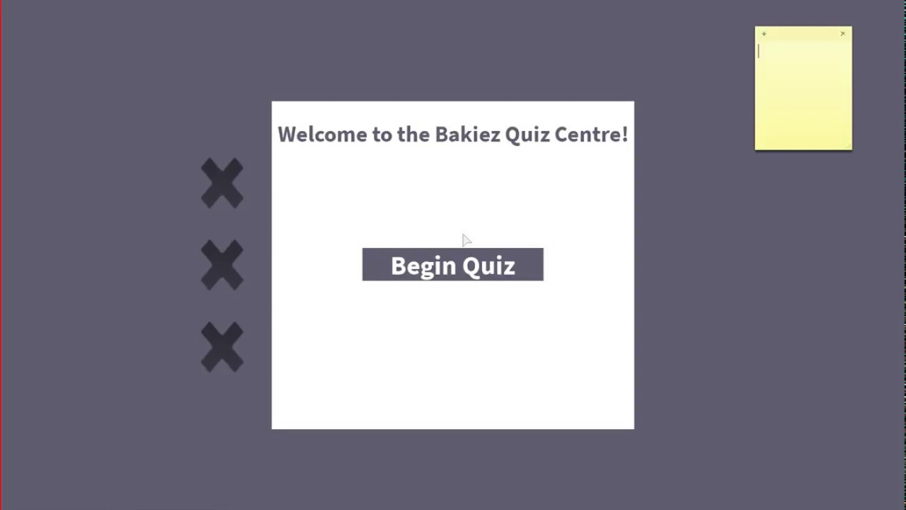 I PASSED!| Roblox Bakiez Bakery Quiz Center - YouTube