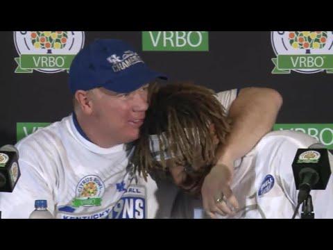 Mark Stoops, UK players discuss Kentucky's Citrus Bowl win