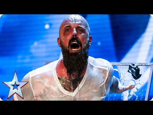Matt Johnson Has Judges Holding Their Breath In Fear Auditions Week 1 Britain S Got Talent 2018