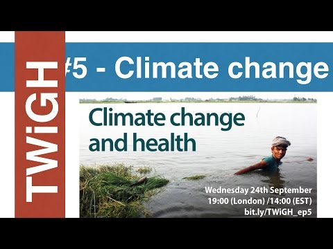 Climate Change - This Week in Global Health