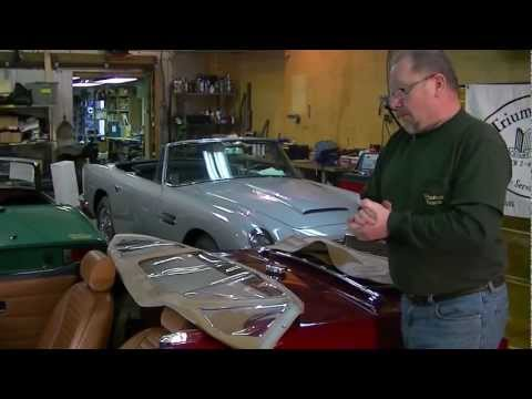 Folding Down a TR6 Convertible Top