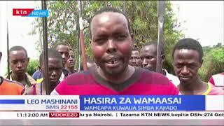 Wamaasai waapa kuwaua simba Kajiado baada ya simba kuvamia mifugo yao