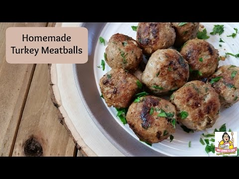 Healthy Baked Poultry Meatballs Recipe