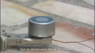 Rotation ultra rapide d'un moteur brushless