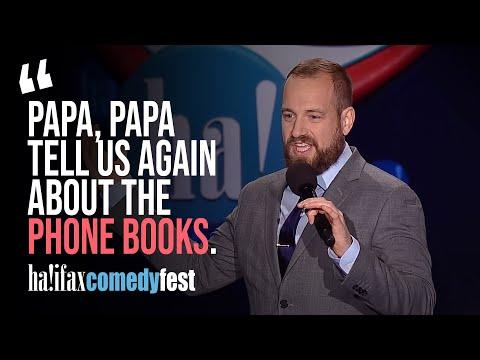 """Papa, papa, tell us again about phone books"" | John Beuhler"