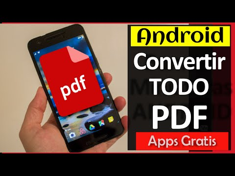 3 Pasos: Crear Y Convertir Cualquier Archivo A PDF En Android