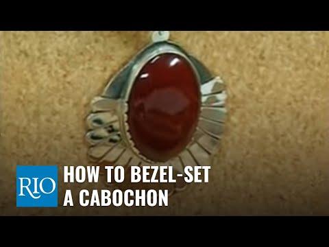 How-to Bezel-Set a Cabochon