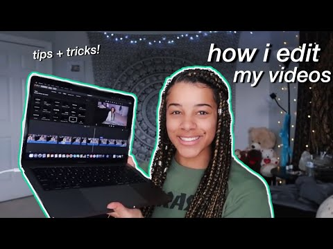 How I Edit My YouTube Videos! Tips & Tricks