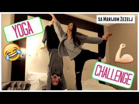 Yoga Challenge sa Marijom Zezelj