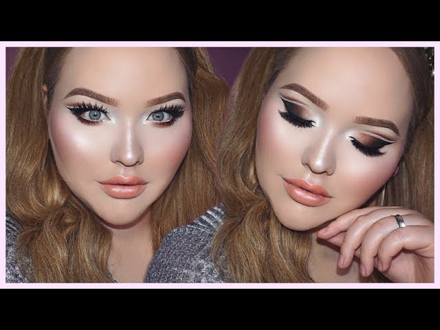 OMBRE Glittery Cut-Crease - TOO FACED x NIKKIETUTORIALS Collection Tutorial