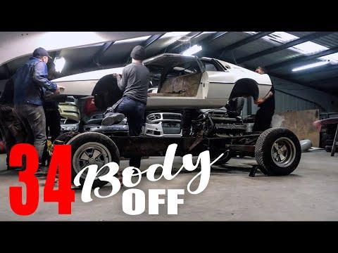 Lotus Esprit BODY OFF!    // SOUP Classic Motoring E.34