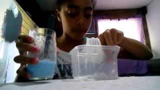 Como fazer amoeba com sabão em pó??!! 😉
