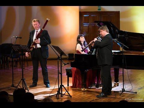 A.Previn, Trio for piano, bassoon, oboe   Ensemble Blumina - Forte Music Fest 2017