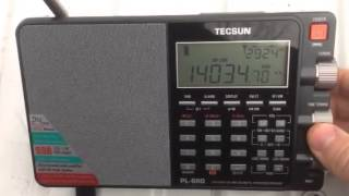 The Tecsun PL-880 tuning CW