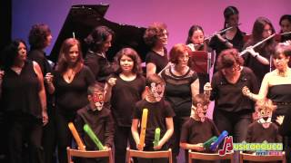 La pantera rosa - Agrupación de alumnos y profesores, Orquesta de flautas y Coro