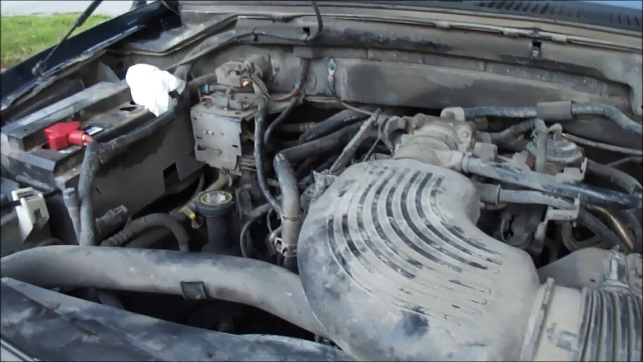 2003 Ford F150 54 L V8 Alternator Diagnosis and Replacement  YouTube
