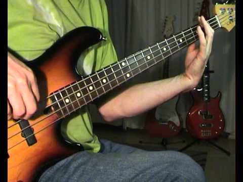Meat Loaf - Paradise By The Dashboard Light - Bass Cover - YouTube