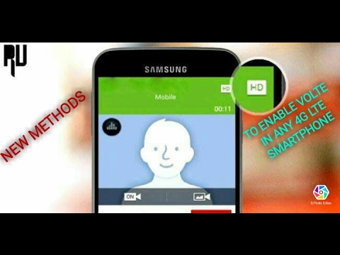 New Methods to enable VoLTE in any 4G LTE Smartphone