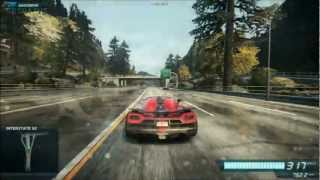 NFS Most Wanted (2012) longest jumps 493 m