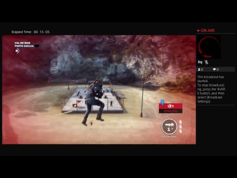 Liberating in Just Cause 3 (and probably failing)