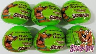 Ovos Surpresas Scooby-Doo em Português - Brinquedos Brasil