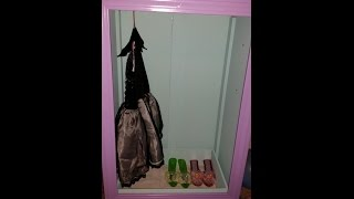 How To Repurpose Your Child's Old Dresser! Dresser Into Wardrobe!