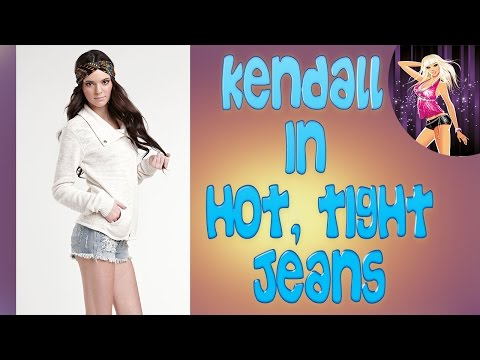 hot Kendall Jenner street style in tight sexy jeans 2015 part VIII thumbnail