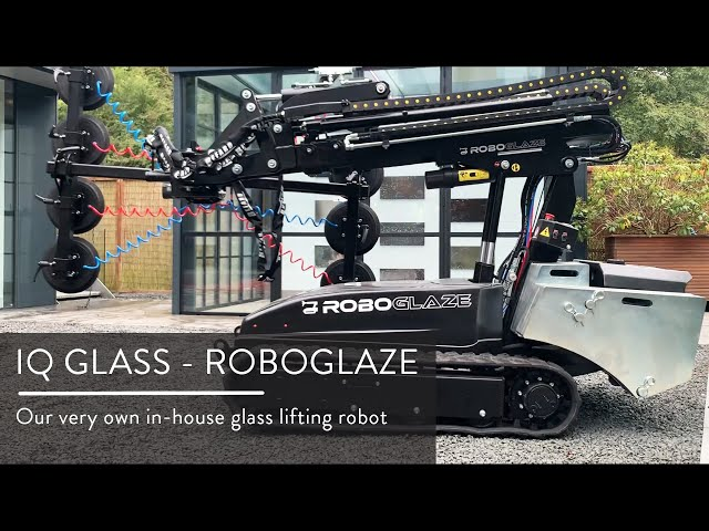 RoboGlaze - The new glass installation robot from IQ Glass