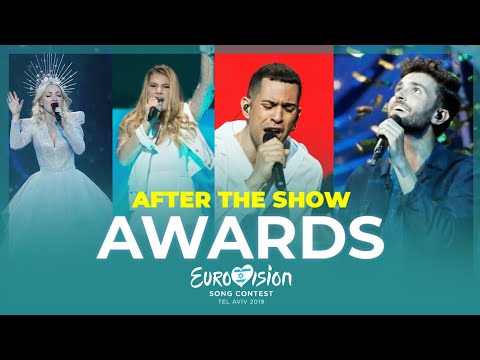 Eurovision 2019🇮🇱: AWARDS (After Show)