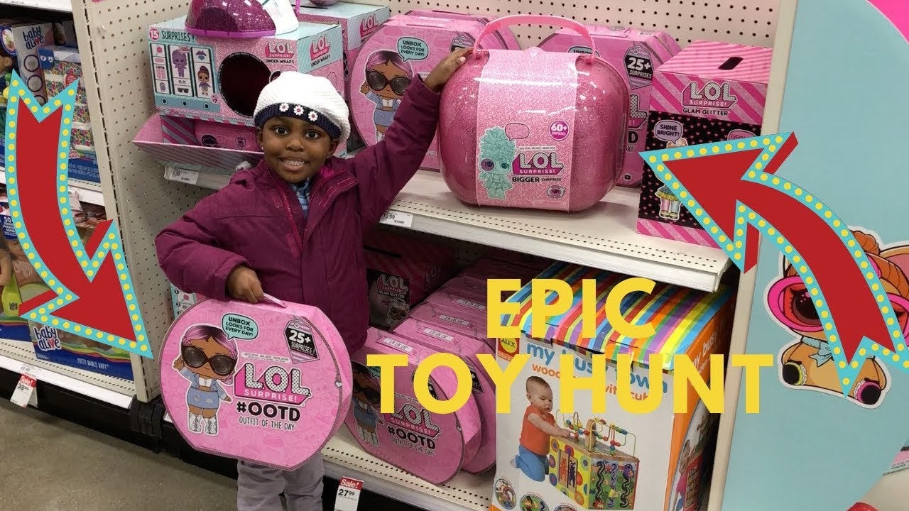 4f8e2dcaca72 TARGET TOY HUNT FOR LOL BIGGER SURPRISE AND LOL SURPRISE ADVENT CALENDAR  😱😱😱