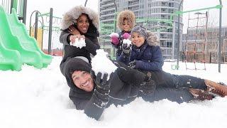 FAMILY SNOW DAY!!!